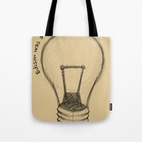The Lord Works In Myster… Tote Bag