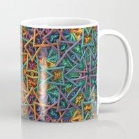 Colorful Fractal Pattern Mug