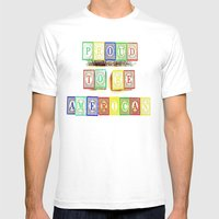 Proud  Mens Fitted Tee White SMALL