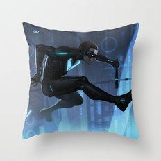 Nightwing Beyond Throw Pillow
