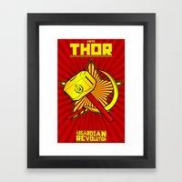Asgardian Revolution: TH… Framed Art Print