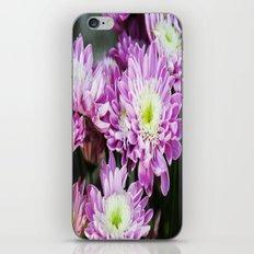 Purple Flowers iPhone & iPod Skin