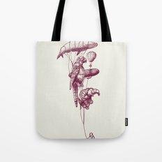 The Helium Menagerie (merlot)  Tote Bag