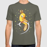 Magic Canary Mens Fitted Tee Lieutenant SMALL
