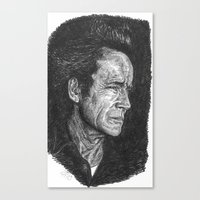 Lance Henriksen Canvas Print