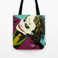 Joker So Serious Tote Bag
