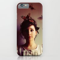 iPhone & iPod Case featuring Hush by elle moss