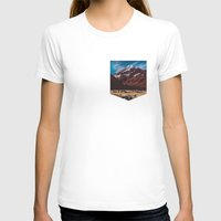 T-shirt featuring South Island Glacier by Tosha Lobsinger is my Photographer