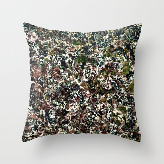 tribal. Throw Pillow