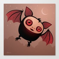 RedEye the Vampire Bat Boy Canvas Print