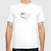 Addiction 1 Mens Fitted Tee White SMALL