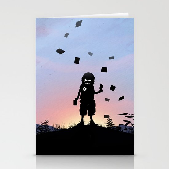 Joker Kid Stationery Card