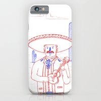 iPhone & iPod Case featuring Mariachi in the Desert by David Penela
