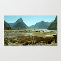 Sinking Giants Canvas Print