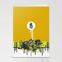 3D GRAFFITI - ESCAPE Stationery Cards