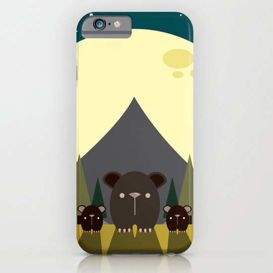 Beary Nice Night iPhone & iPod Case