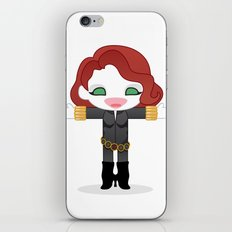 BLACK WIDOW ROBOTIC iPhone & iPod Skin