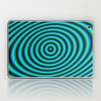Turquoise Rings Laptop & iPad Skin
