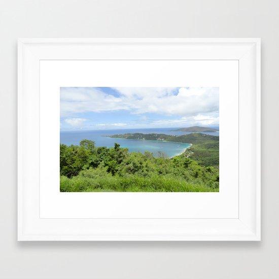 Complete Paradise Framed Art Print