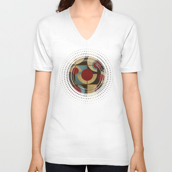 Textures/Abstract 98 V-neck T-shirt
