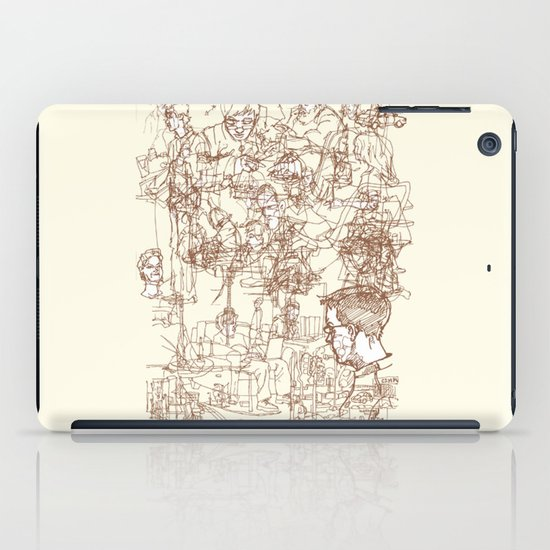 This is What We Call a Life Drawing iPad Case