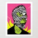 Fink (The Network) Art Print