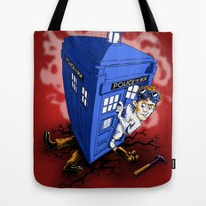 Dr Whorrible's Revenge! Tote Bag