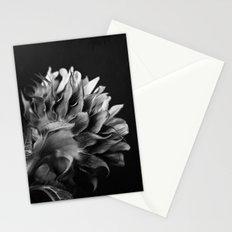 Sunflower (B&W) Stationery Cards