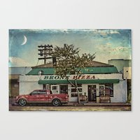 Bronx Pizza Canvas Print