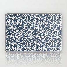 navy coral pattern Laptop & iPad Skin