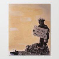 Save The Parks Canvas Print