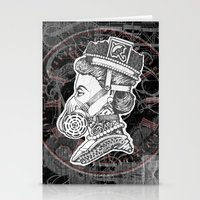 Umbrella Queen Stationery Cards