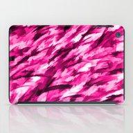 Designer Camo In Hot Pin… iPad Case