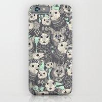 sweater mice mint iPhone 6 Slim Case