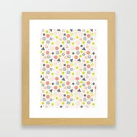 Lovely Party Framed Art Print
