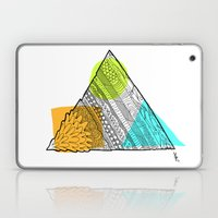 Triangle Doodle Laptop & iPad Skin