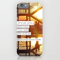 iPhone & iPod Case featuring Once You Were Here, Now We Are Sane by Hiver & Leigh