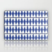 Indigo Stripe Laptop & iPad Skin