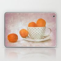 a cup full of apricots Laptop & iPad Skin
