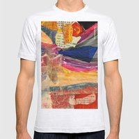 Collage Love - Asian Tie Mens Fitted Tee Ash Grey SMALL