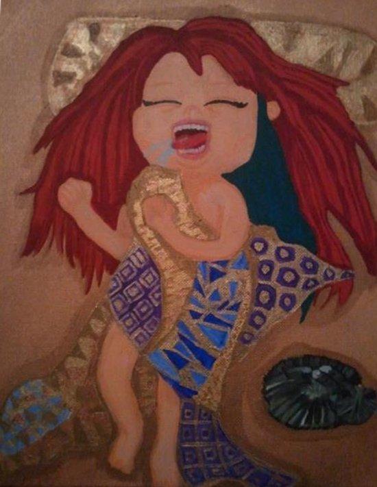 Golden Slumber Art Print