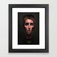 Liam Gallagher Framed Art Print