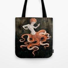 Octopus Mermaid Tote Bag