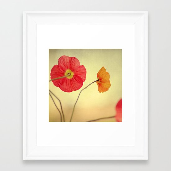 Les Jolies Fleurs Framed Art Print