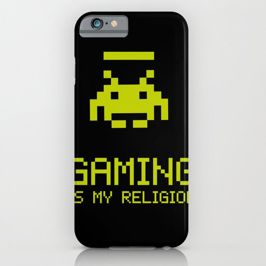 Gaming is my religion iPhone & iPod Case