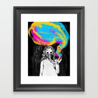 DeathBreath Framed Art Print