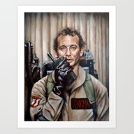 Bill Murray / Ghostbuste… Art Print