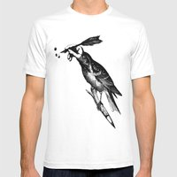The Experimetal Artist Mens Fitted Tee White SMALL