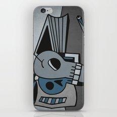Skull, Book and Coffee iPhone & iPod Skin