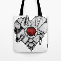 Heart - Mech Tote Bag